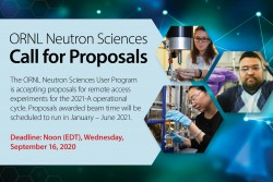 Proposal Call 2021-A