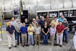 Bil-SANS detector staff