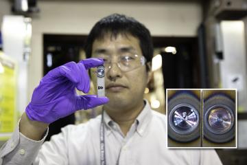 Researcher Koichi Taniguchi from JFE Steel Corporation